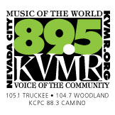 KVMR 89.5FM Nevada City